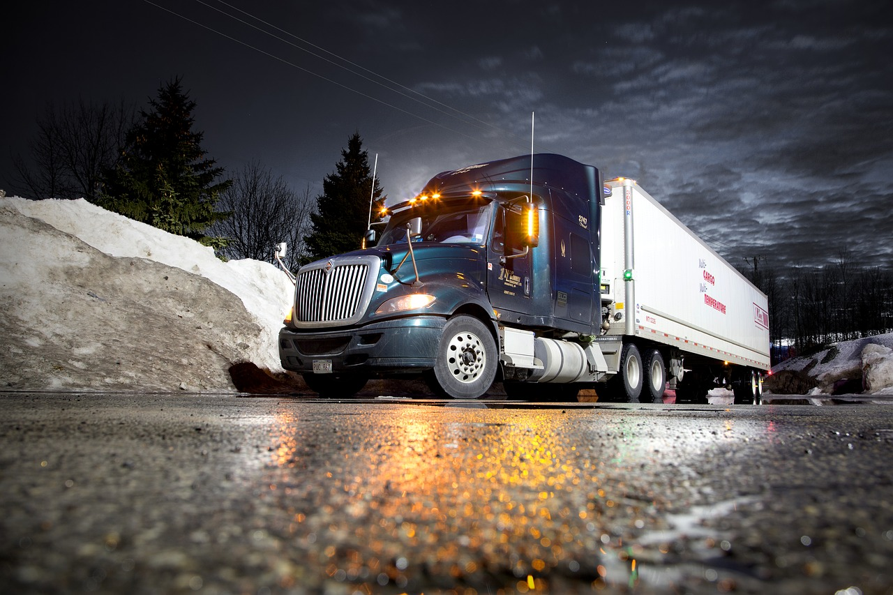 Snow Driving Tips for truckers
